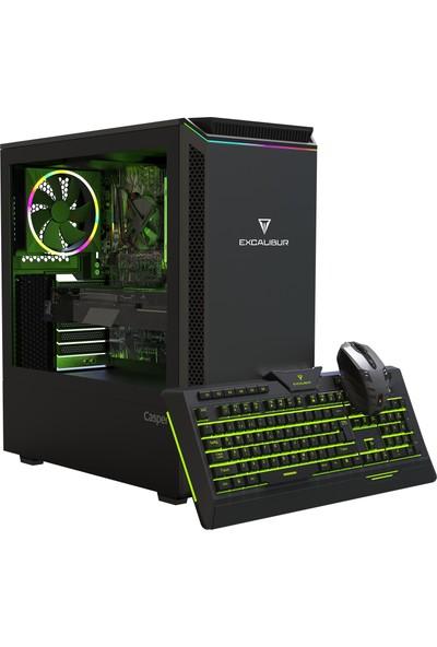 Casper Excalibur E60L.101F-8DH0X-0FC Intel Core i3 10100F 8GB 240GB SSD 4GB GTX1650 Freedos Masaüstü Bilgisayar