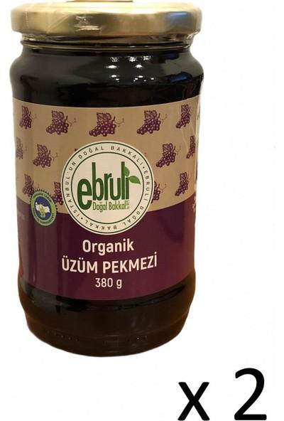 Ebruli Doğal Bakkal Üzüm Pekmezi 380 gr (2 Li)
