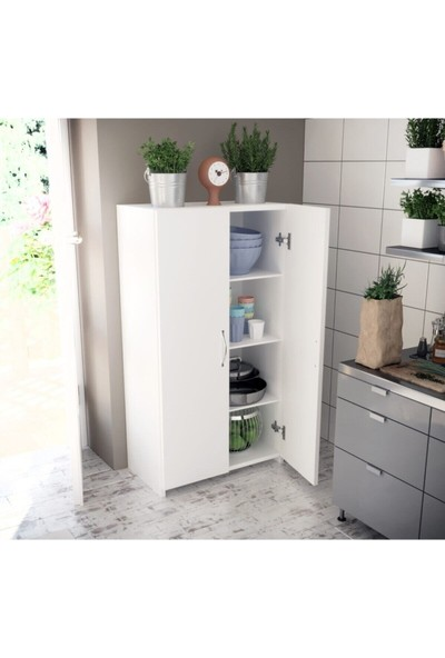 Ue Mobilya Çok Amaçlı Dolap Mutfak & Hol & Banyo & Balkon & Ofis
