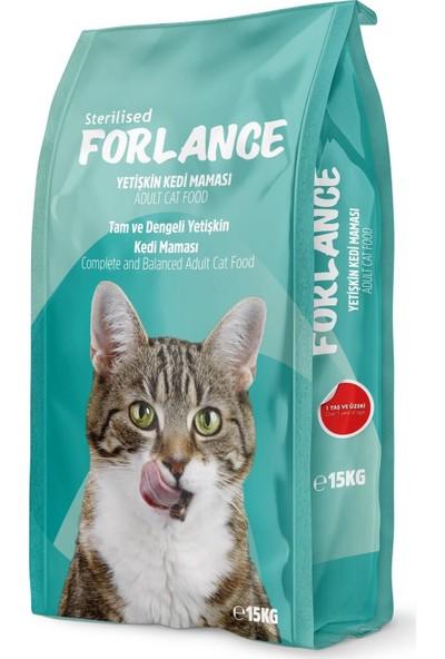 Forlance Tavuk Etli Kısır Kedi Maması 15 kg