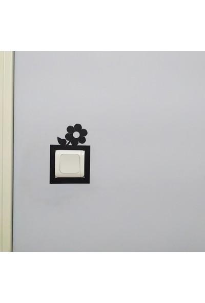 Özgür Sanat Atölyesi Dekoratif Priz Çerçevesi , 1.kalite Metalden Üretilmiştir.(07)