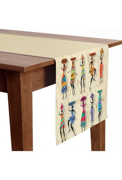 Otto Home Collection Otto Home Premium Dekoratif Dijital Baskılı Runner