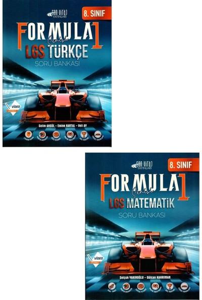 Son Viraj Yayınları LGS Formula 1 Matematik + Türkçe Soru Bankası Seti 2021