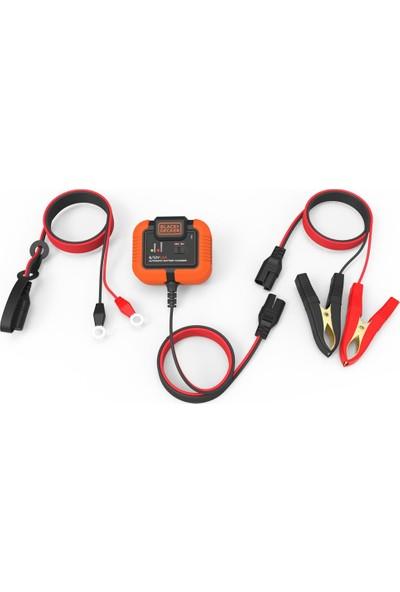 BLACK+DECKER BXA21 6V/12V 72A Akıllı Akü Şarj ve Akü Bakım Cihazı