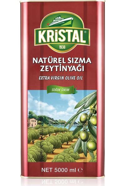 Kristal Natürel Sızma Zeytinyağı DG Teneke 5 L