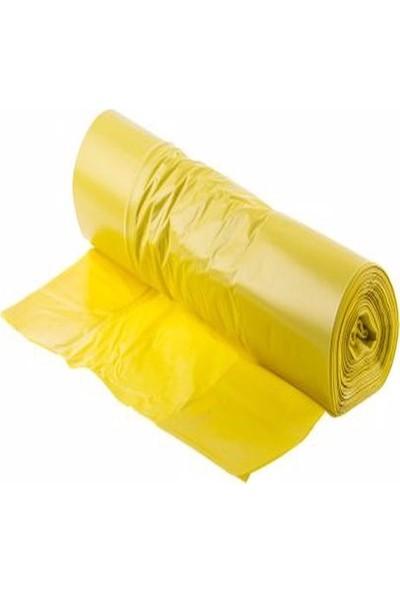 Birpack Sıfır Atık Çöp Torbası Sarı 90 x 125
