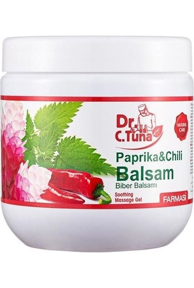 Farmasi Dr. C. Tuna Iki Kat Etkili Biberli Masaj Jeli 500 ml