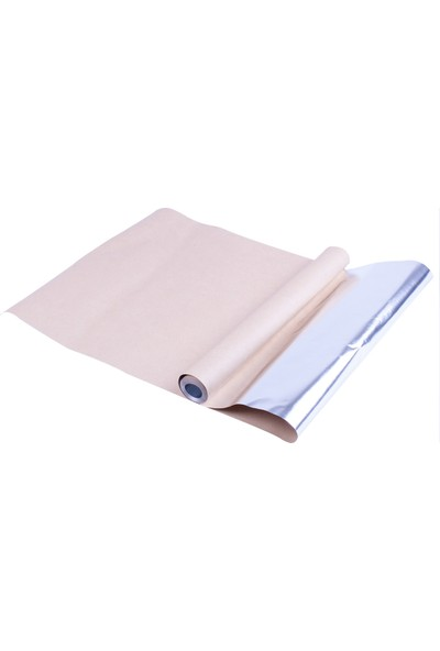 Roll-Up Akıllı Folyo ve Yağlı Kağıt 2'si 1 Arada Sar Pişir 30cm x 8m (3 Rulo)