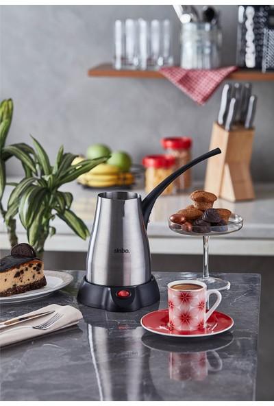 Sinbo SCM-2957 Elektrikli Cezve Kahve Makinesi Inox