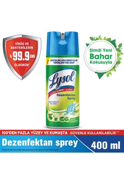 Lysol Dezenfektan Sprey Bahar Ferahlığı Yüzeyler İçin 400 ml