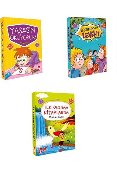 Timaş Yayınları 1. Sınıf İlk Okuma Kitapları 3 Set Bir Arada 30 Kitap Setyaşasın Okuyorum Levent İlk Okuma Kitaplarım