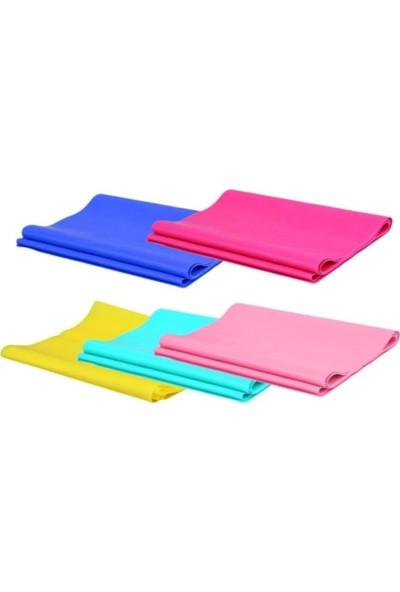 Technosmart 3'lü Pilates Bandı Plates Egzersiz Direnç Lastiği