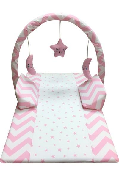 Pierre Cardin Oyuncaklı Bebek Reflü Yastığı - Pembe