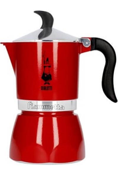 Bialetti Fıammetta 3 Fincan Kırmızı Moka Pot