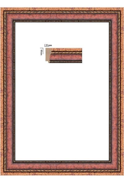 Selçuklu Sanat Puzzle Çerçevesi 48 mm 68 x 96 cm 2000'lik Venge