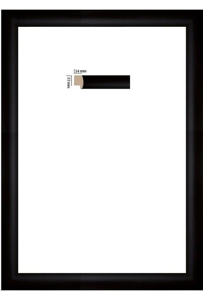 Selçuklu Sanat Puzzle Çerçevesi 22 mm 35 x 50 cm 500'lük Siyah