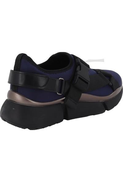 Prins Lacivert Kadın Spor Ayakkabı 82