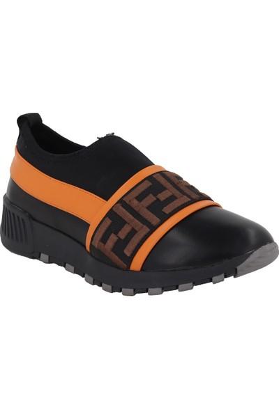 Prins Siyah Kadın Spor Ayakkabı 107