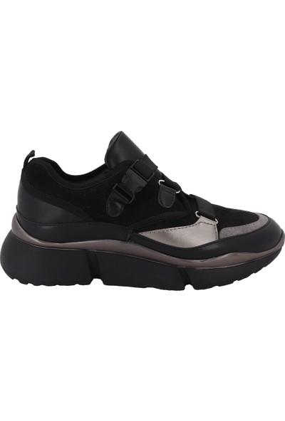 Prins Siyah Kadın Spor Ayakkabı 78