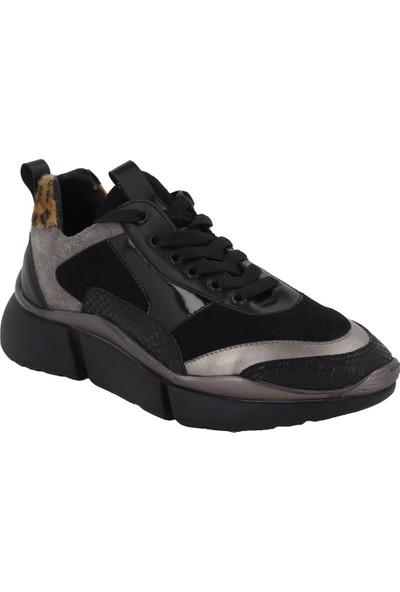 Prins Siyah Kadın Spor Ayakkabı 80