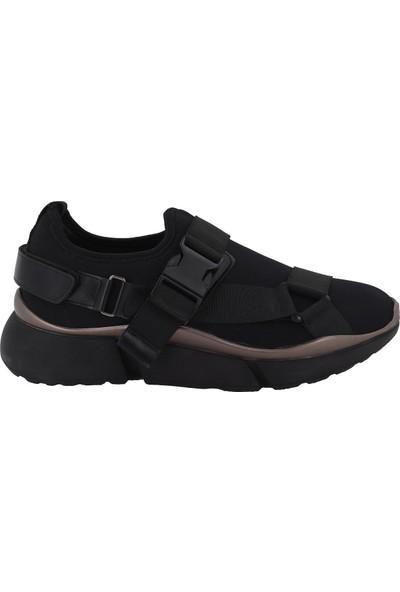 Prins Siyah Kadın Spor Ayakkabı 82