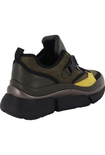 Prins Yeşil Kadın Spor Ayakkabı 78