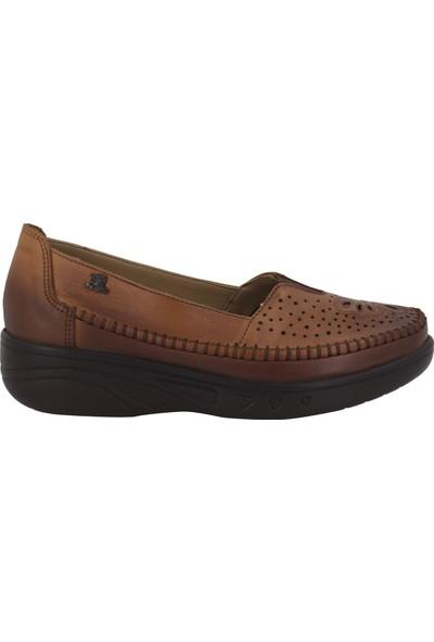 Venüs Taba Deri Kadın Ayakkabı 1820516Y