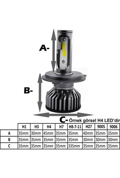 OTO AXS Şimşek LED Xenon H1-H3-H4-H7-H8-H9-H11-H27-9005-9006-KUMANDALI T10