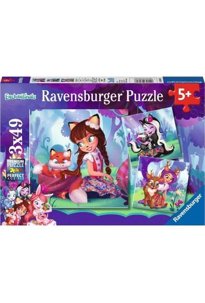 Ravensburger 3X49 Parça Puzzle Walt Disney Enchantimals 80618