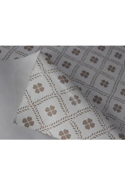 Dede Ev Tekstil Elyaf Silinebilir Pvc Muşamba Masa Örtüsü Yonca