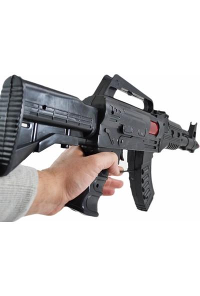 Can Em Cırcırlı Ses Çıkaran Büyük Tüfek M16 Tabanca