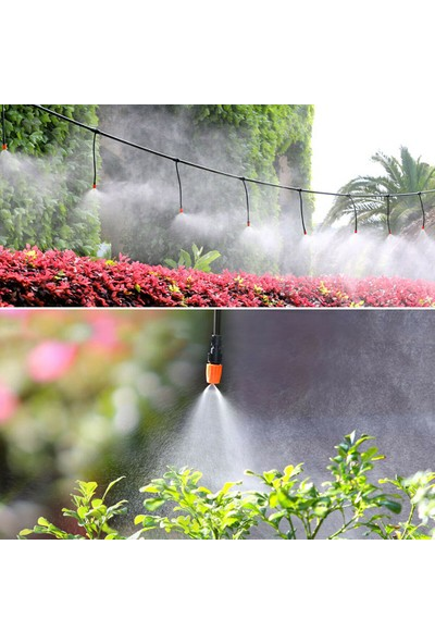 Anself Bahçe Veranda Su Mister Hava Misting Soğutma Mikro