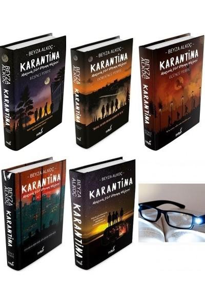Karantina 1-2-3-4-5 Ciltli Beyza Alkoç + Okuma Gözlük
