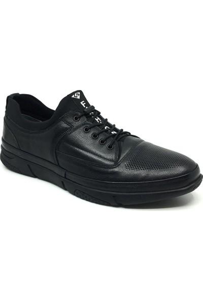 Luis Figo Deri Erkek Mevsimlik Rahat Büyük Numara Ayakkabı 45-48