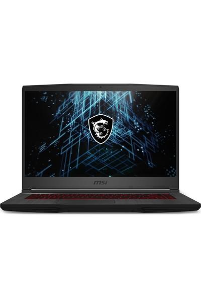 "MSI GF65 Thin 10UE-045XTR Intel Core i7 10750H 16GB 512GB SSD RTX3060 Freedos 15.6"" FHD Taşınabilir Bilgisayar"