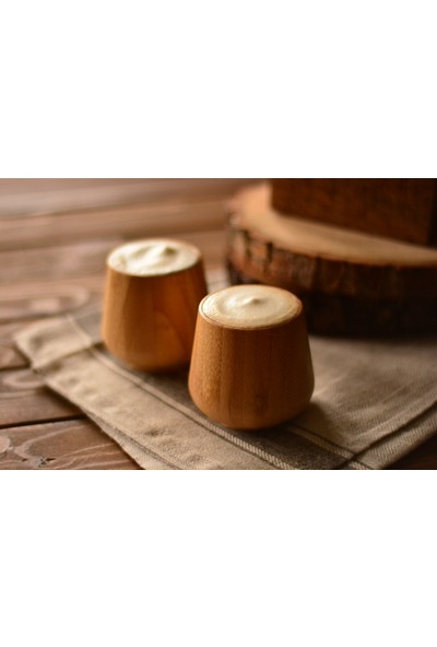 Bambum Gento - 2 Li Bambu Bardak 100 Ml (7 Cm)