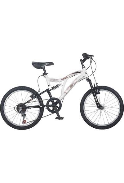 TEC 20 Jant Çift Amortisör Vitesli Çocuk Bisikleti 7-10 Yaş Tec Crazy