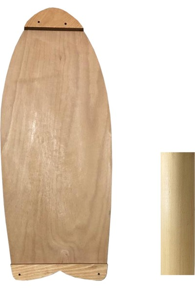 Woodie Denge Tahtası Rocket - Balance Board Rocket 70X29X1.5CM