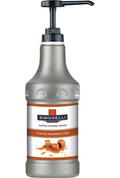Simonelli - Profesyonel Sos - Karamel Aromalı