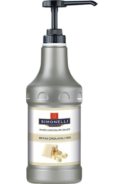 Simonelli - Profesyonel Sos - Beyaz Çikolata Aromalı