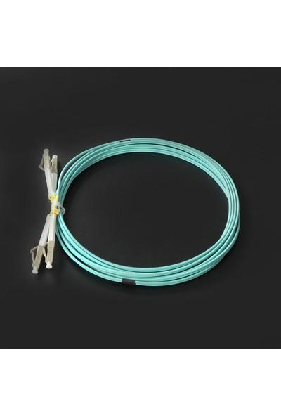 Canovate Fiber Optik Patch Kablo Lcpc/lcpc Dubleks Multimode (Mm) 3mt Aqua Renkli Patch Cord