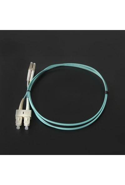 Canovate Fiber Optik Patch Kablo Scpc/lcpc Dubleks mm 1mt Aqua