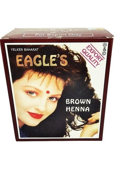 Eagles Hint Kınası Kahve Rengi 6 Adet Tam Kutu