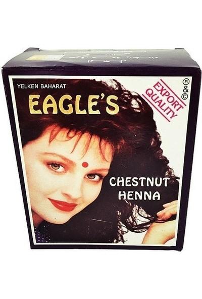 Eagles Hint Kınası Kestane Rengi 6 Adet Tam Kutu