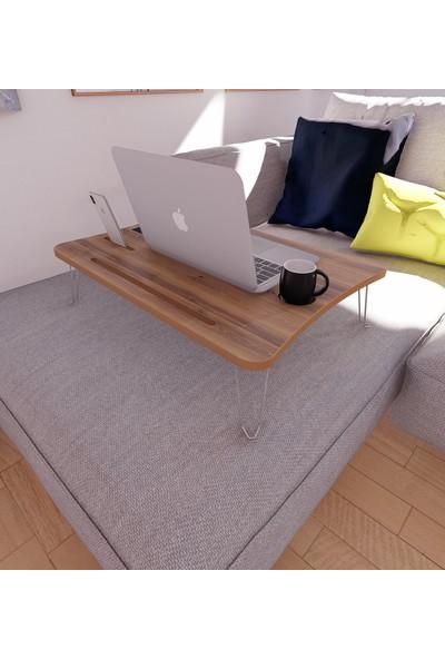 Diwwa Katlanır Sehpa Laptop Çalışma Masası