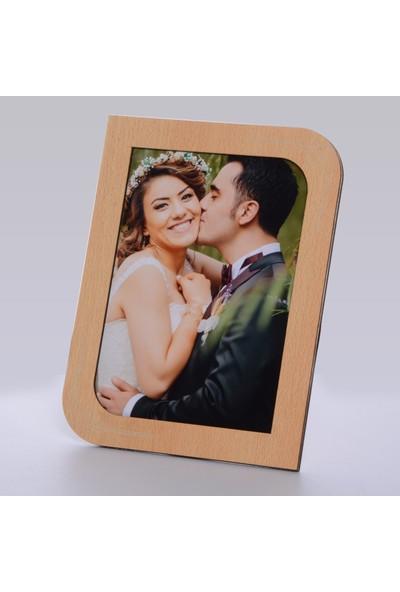 Technopa Ahşap Kayın Renk Resim Çerçeve 13 x 18 cm