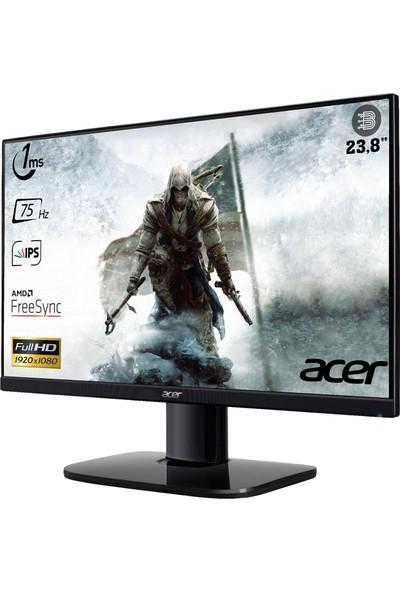 """Acer KA242Y 23.8"""" 75Hz 1ms (Hdmı+Vga) Freesync Full Hd IPS Monitör UM.QX2EE.005"""