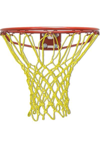 Özbek Basketbol Filesi 4mm Polys. Sarı - 2 Adet (Basketbol Pota Ağı)