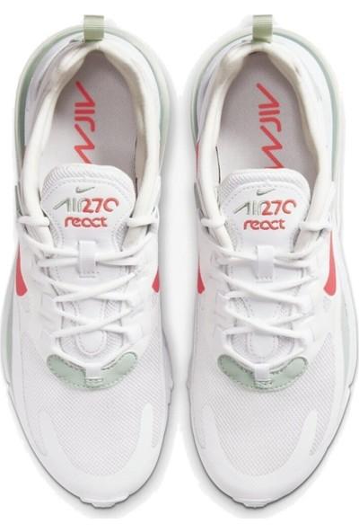 Nike Air Max 270 React CV3025-100 Kadın Spor Ayakkabı