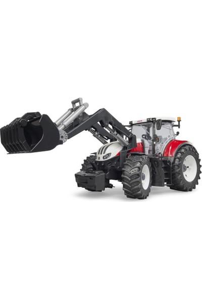 Bruder Steyr 6300 Terrus Kepçeli Traktör BR03181